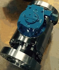 600# Ball Valve, Flanged Ends