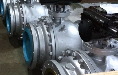 A216 WCC Ball Valve, Flanged Ends