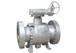 A352 LCC Ball Valve, Trunnion Mounted