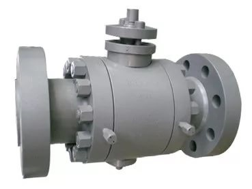 ANSI Flanged Trunnion Ball Valve