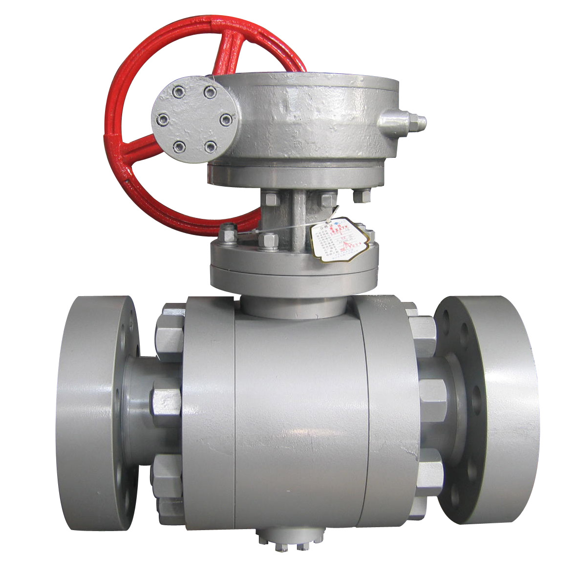 API 6D Forged Steel Trunnion Ball Valve, Class 1500