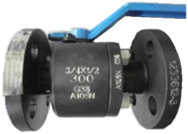 ASTM A105N Reduce Bore Ball Valve