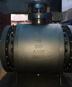 Ball Valve, 16 Inch, Forged Steel