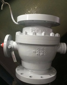 Ball Valve, Flanged Ends, 300 LB