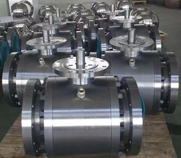 Bare Stem Ball Valve, ISO 5211
