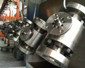 Bolted Body Ball Valve, API 608, Flanged