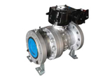 Carbon Steel  Ball Valve, A216 WCB, Flanged