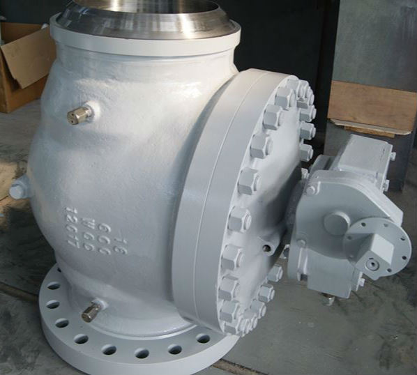 Carbon Steel Top Entry Ball Valve