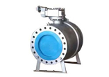 Cast Carbon Steel Ball Valve, Flanged Ends