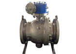 Cast Carbon Steel Ball Valve, Trunnion Mounted