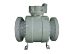 Cast Steel Ball Valve, Side Entry, 3PC
