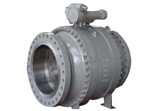 Cast Steel Ball Valve, WCB, Flanged