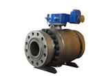 Class 2500 Ball Valve, Flanged, RTJ, 10 Inch