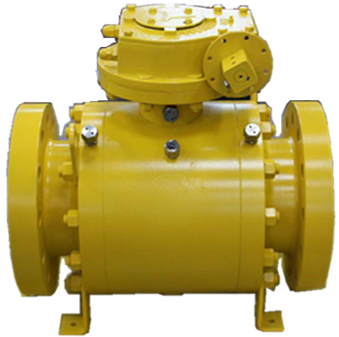 Delrin Seat Ball Valve, ASTM A105