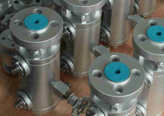 Double Block and Bleed Floating Ball Valve