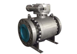 Forged Carbon Steel Ball Valve, Flanged
