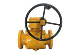 Forged Carbon Steel Ball Valve, 16 Inch