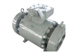Forged Steel Ball Valve, 3 Piece, Flanged Ends