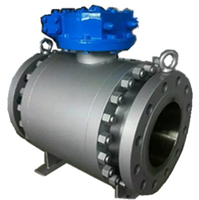 Forged Steel Ball Valve, Flanged End, 16 Inch