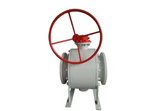 Forged Steel Trunnion Ball Valve, Flanged Ends