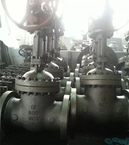 Gate Valve, Class 600, 12 Inch, Flanged