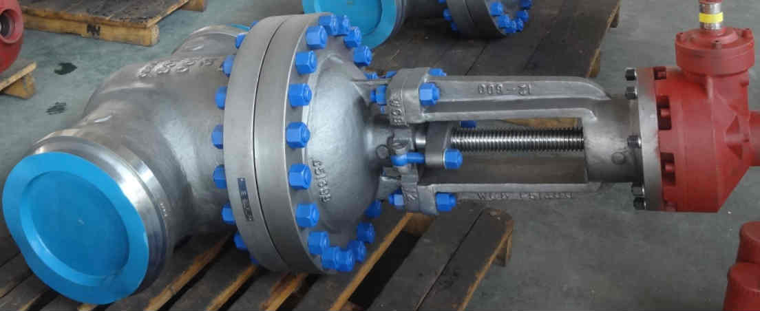 Gear Operated Gate Valve, Weld End