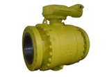 LCC Trunnion Ball Valve, Flanged