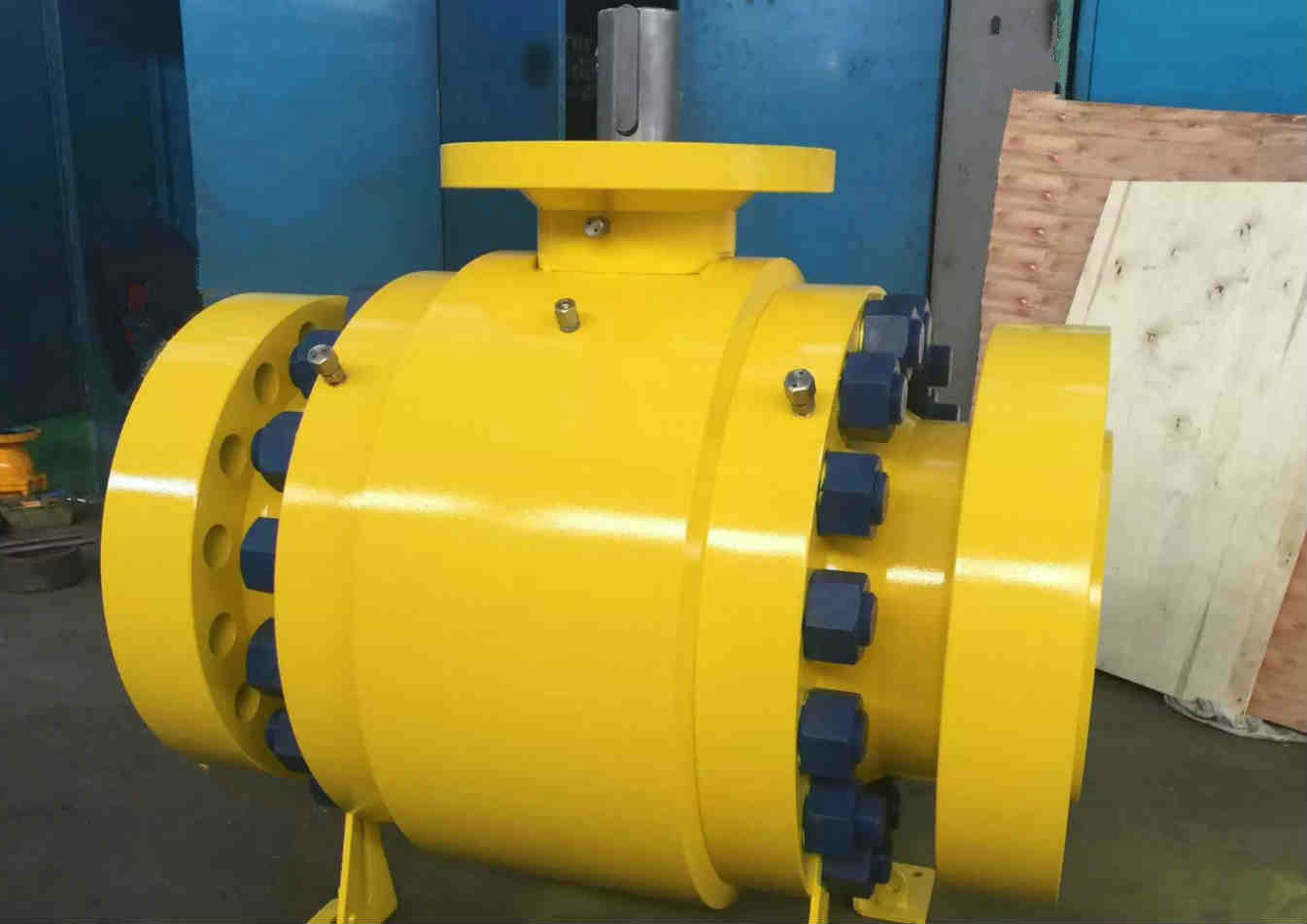 Metal Seated Trunnion Mounted Ball Valve