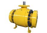 Metal Seated Trunnion Ball Valve, Zero Leakage, High Temperature