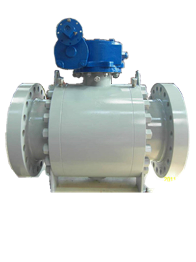 PEEK Seat Ball Valve, Flanged Ends