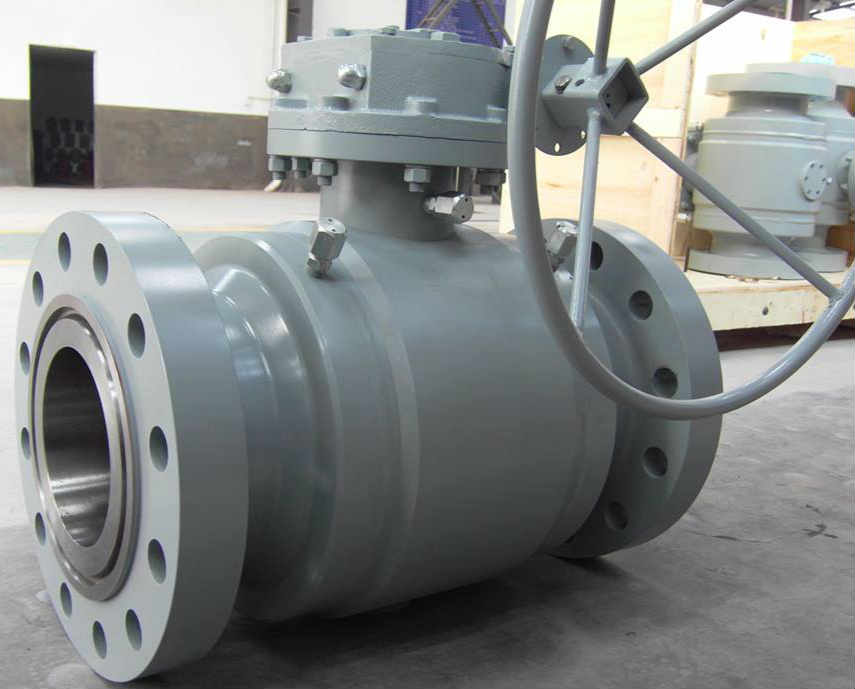 Reduced Bore Full Weld Ball Valve, API 6D, Middle Size