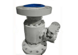 Side Entry Ball Valve, Split Body, 3 Piece, Flanged