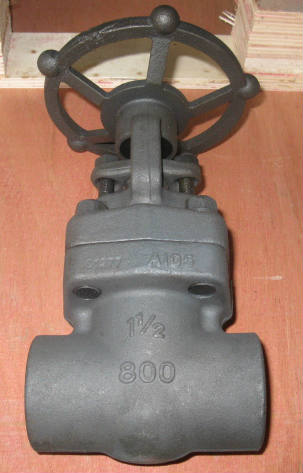 Solid Wedge Gate Valve, NPT Ends