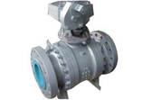 Trunnion Ball Valve, A352 LCB, Flanged