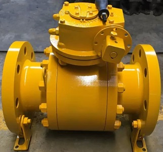 Trunnion Ball Valve, Bolted Body, 300#