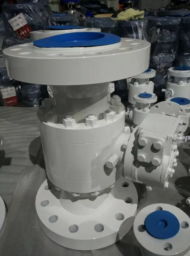 Trunnion Ball Valve, Reduced Bore, A105N