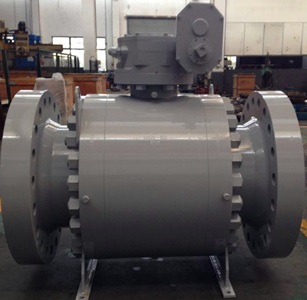 Trunnion Ball Valve, Reduced Bore, API Standard