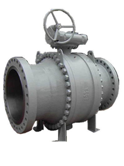 Trunnion Mounted Ball Valve, Cast Steel, 3PC