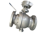 WCB Cast Steel Ball Valve, Trunnion Mounted