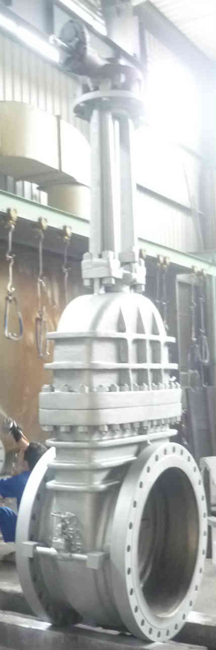 WCB Gate Valve With Bypass, RF Ends