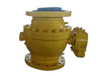 WCC Ball Valve, Side Entry, Gear Operated