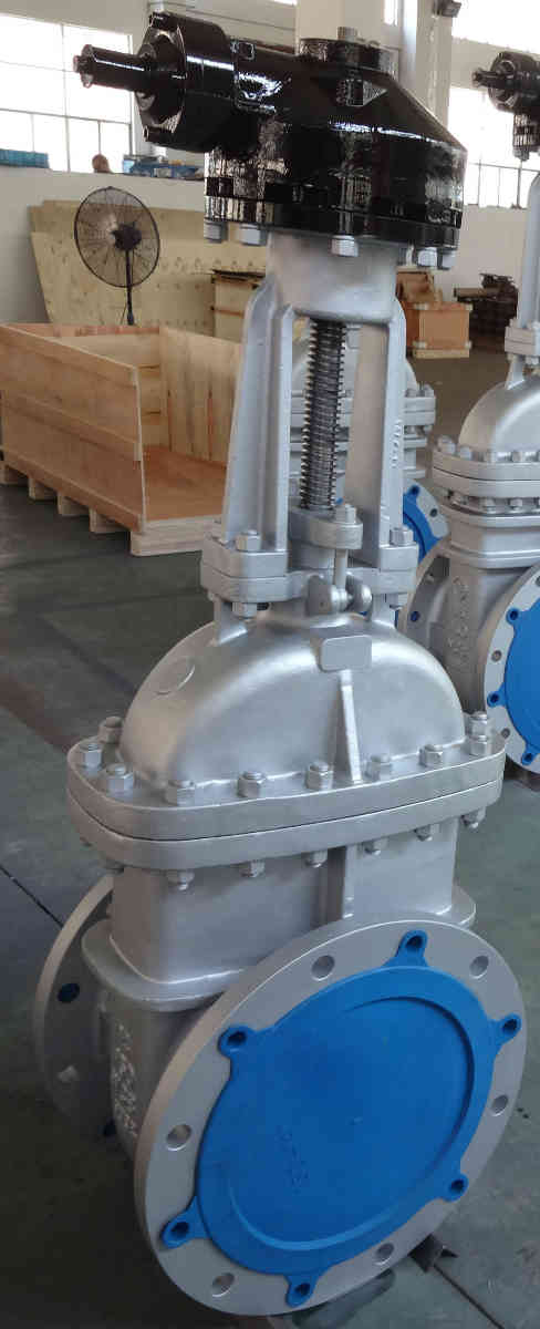Wedge Gate Valve, Flange Ends, 150 LBS