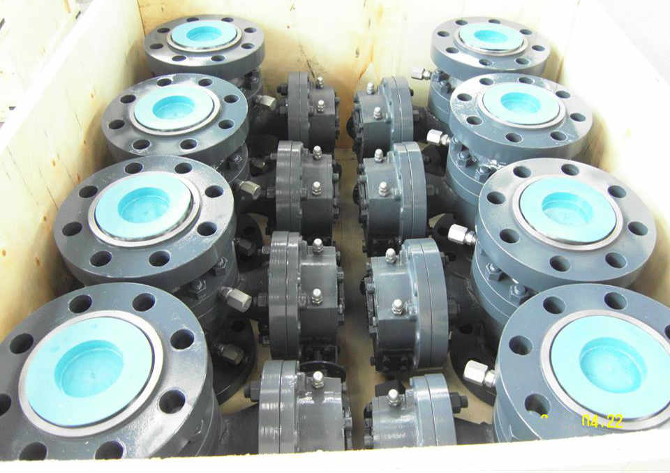 Worm Gear Operated Ball Valve, A216 WCB