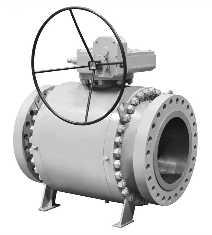 forged steel trunnion ball valves